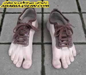 صور احذيه غريبه جدا