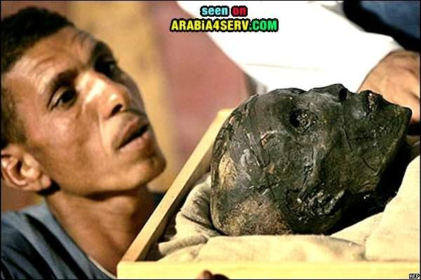 لأول مره صور لمقبره توت عنخ أمون