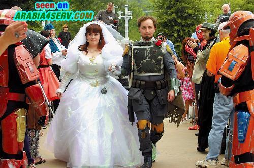 صور غريبة ومضحكة للعرسان