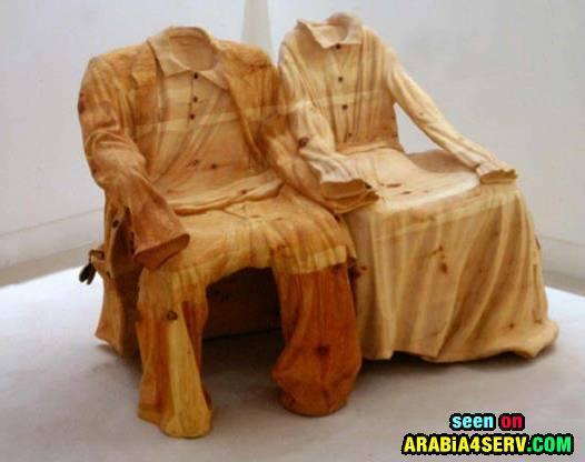 صور اعمال خشبيه غاية فى الابداع والغرابة