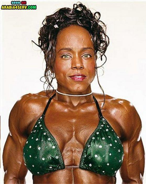صور كمال اجسام للنساء