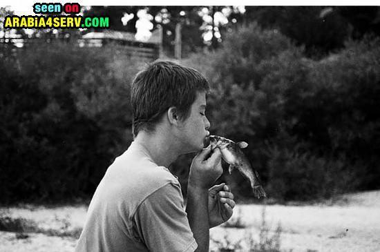 صور قبلات رومانسية