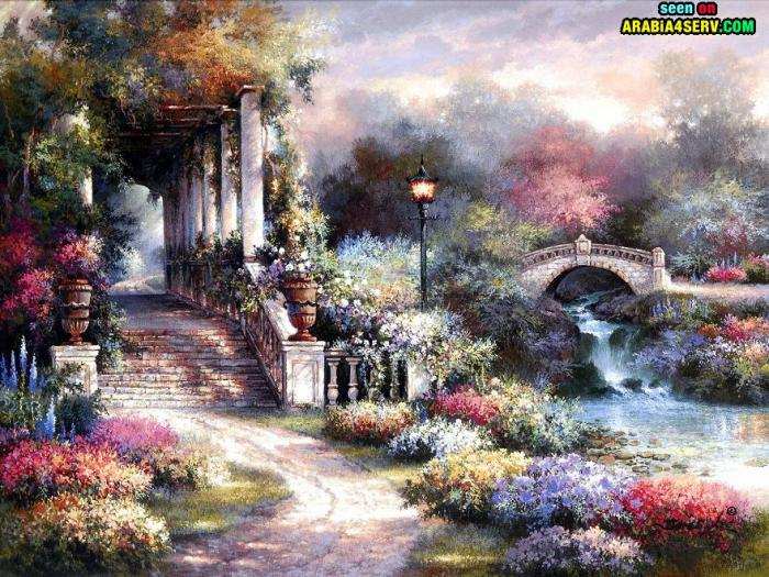 اجمل لوحات فنية ممكن تشوفها فى حياتك