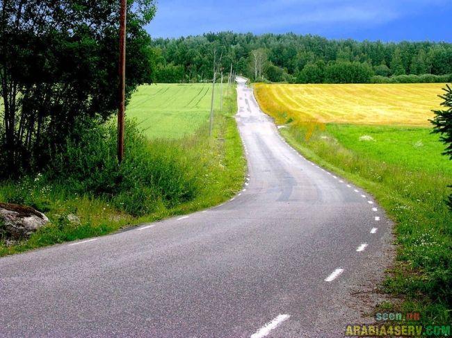 صور  اجمل الطرق فى العالم - طرق جميلة مبهرة ساحرة روعة