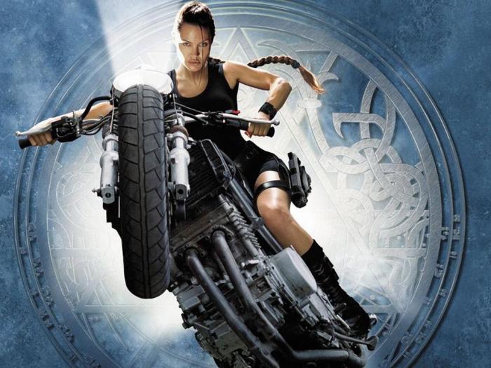 ملكة جمال هوليوود أنجلينا جولي Angelina Jolie