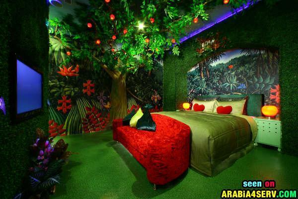 اغرب غرف النوم في العالم