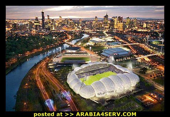 صور ملاعب كرة القدم فى المستقبل