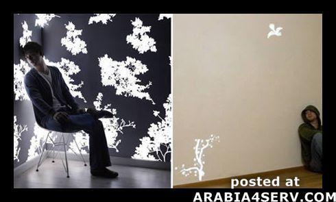 صور ورق حائط باشكال غير تقليدية
