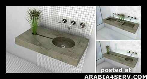 صور لاخر الابداعات فى احواض الحمامات