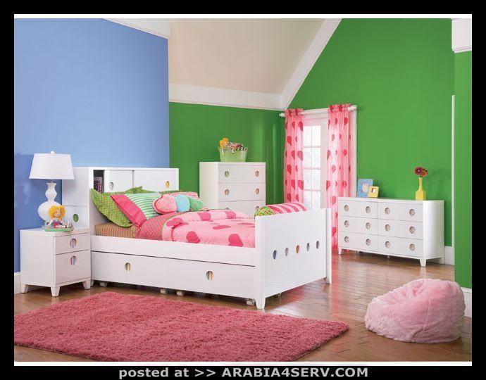ديكورات غرف نوم اطفال 2010