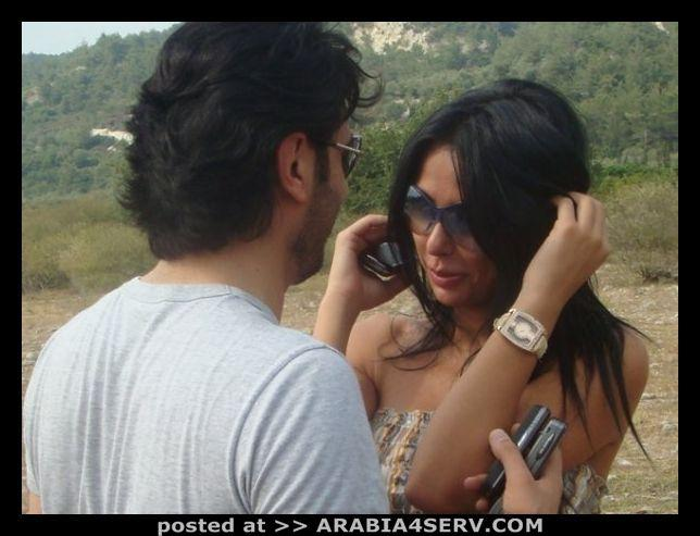 صور  ماجد المهندس مع مها الخليل