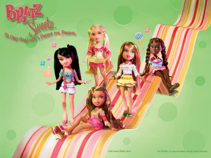 صور أجمل شخصيات ديزنى Bratz