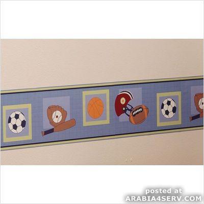 ديكور حوائط غرف الأطفال