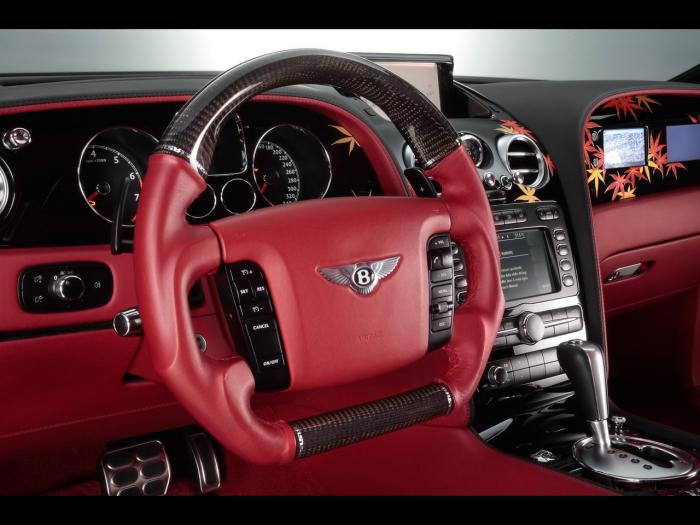 on 2008 Bentley Continental Gt