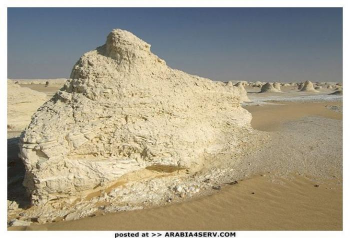 صور الصحراء البيضاء في مصر