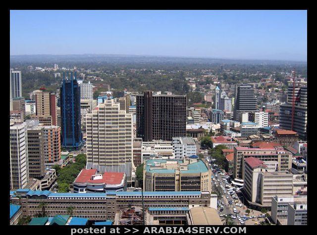 صور من مدينة نيروبى