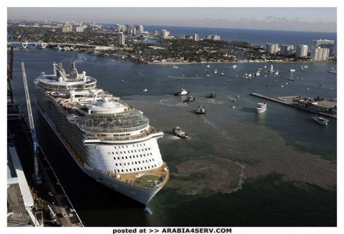 صور اكبر سفينة فى العالم غريبة جدا مدهشة