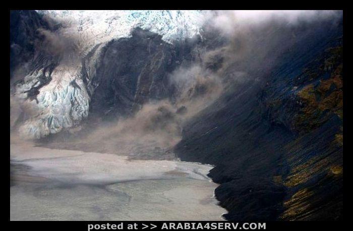 صور بركان ايسلندا صور مخيفة رهيبة نادرة