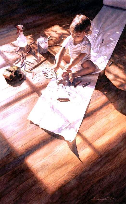 رسم مذهل - لوحات فنية مذهلة مبهرة ساحرة روعة