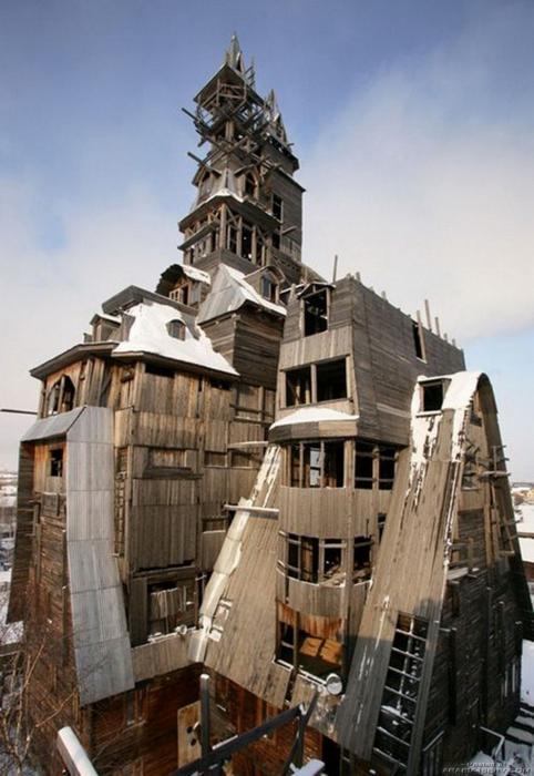 صور مباني - انشاءات غريبة
