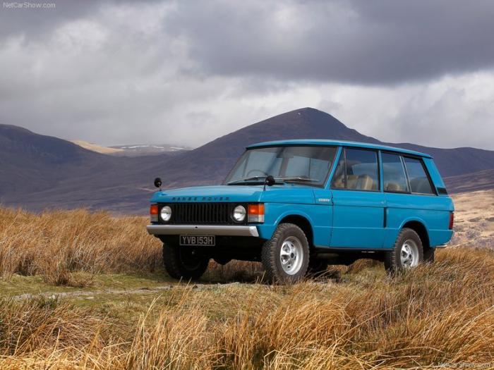 صور سيارة لاند روفر 1970 Land Rover