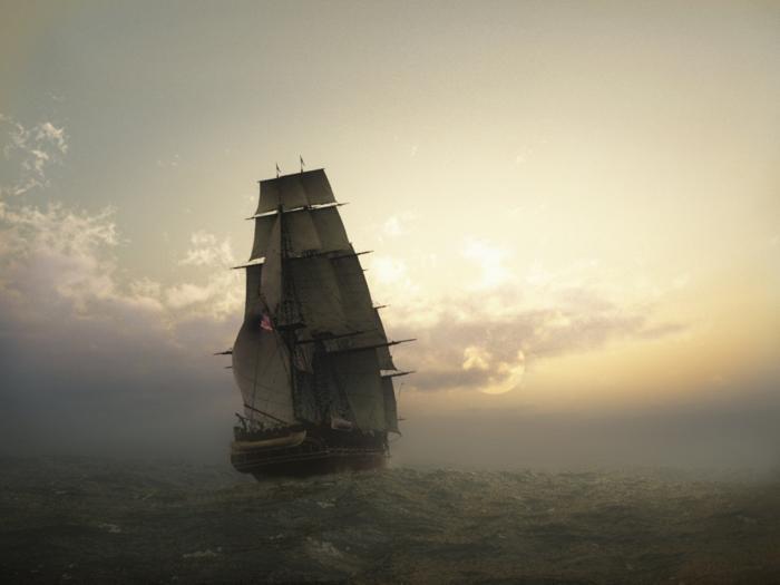 خلفيات سفن شراعية بدقة عالية