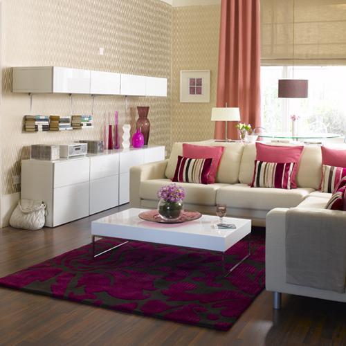 ديكورات غرف معيشة صغيرة