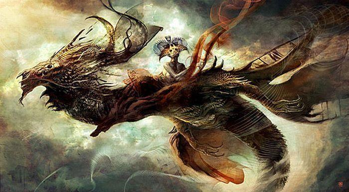 صور حيوان التنين - صور التنين
