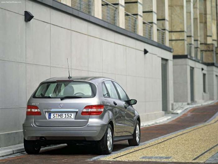 ��� ����� ������ ��� Mercedes-Benz B150 2006