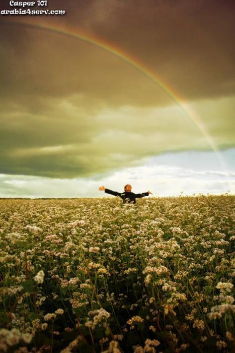 صور طبيعية رائعة لـ قوس قزح