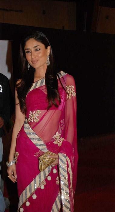 صور كارينا كابور بالساري الهندي - Kareena Kapoor in Saree