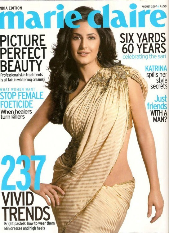 ������� ��� ������� ������ - Katrina Kaif in Saree