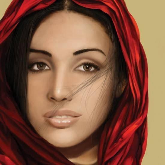 رسومات - لوحات ديجيتال رائعة للبنات والفنانات