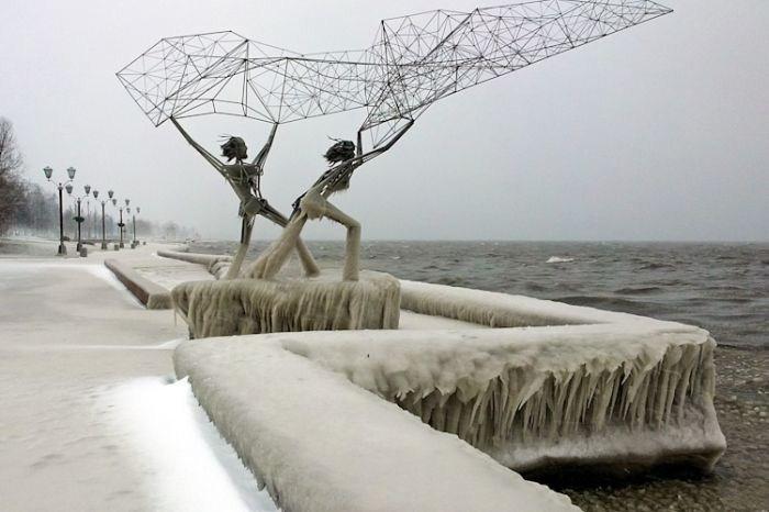 صور فصل الشتاء في روسيا