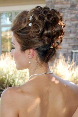 hair up styles for party موضة قصات شعر 3280 | 1664