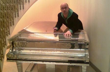 صورة آلة البيانو الموسيقية