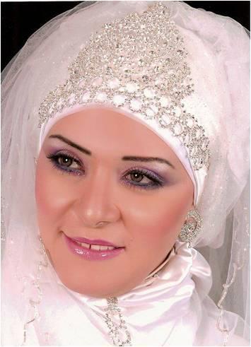 احدث لفات الطرح والمكياج للعرائس